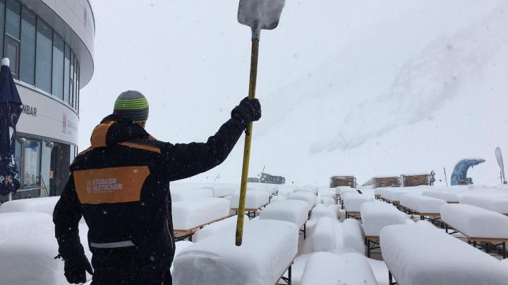 Stubaier Gletsjer 18 april 2017