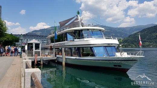 Zell am See en de Schmittenboot