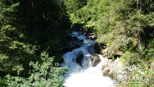 Wildewasserweg Grawa Waterval bij Ranalt in Stubaital
