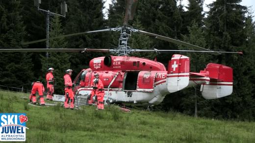Helikopter Schatzbergbahn