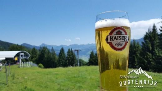 Bier in de Alpenweide