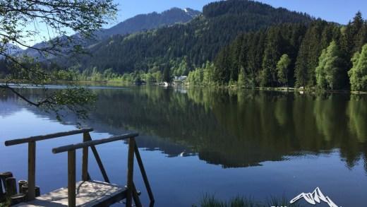 Schwarzsee Kitzbühel warmste meer van Tirol