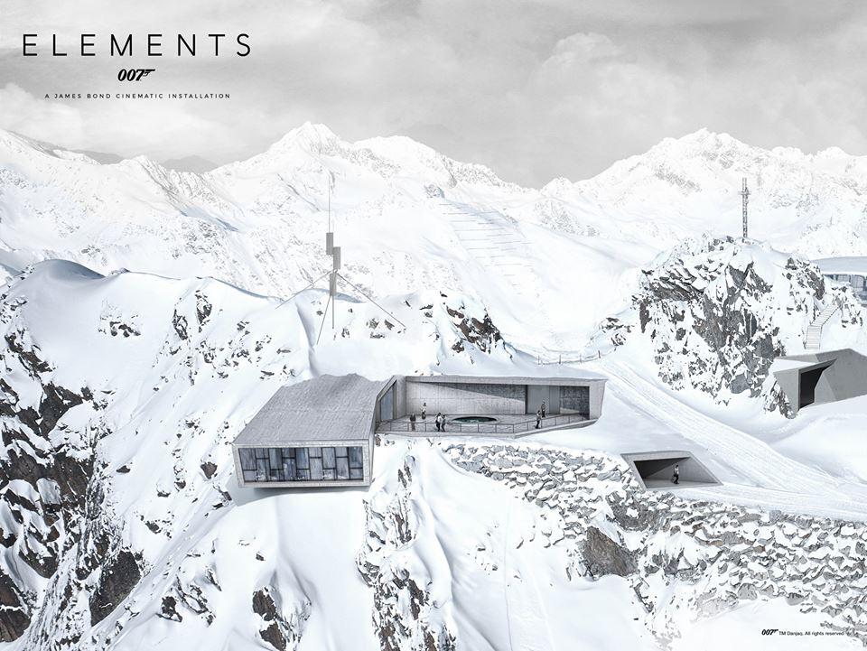 Unieke James Bond experience 007 Elements Sölden