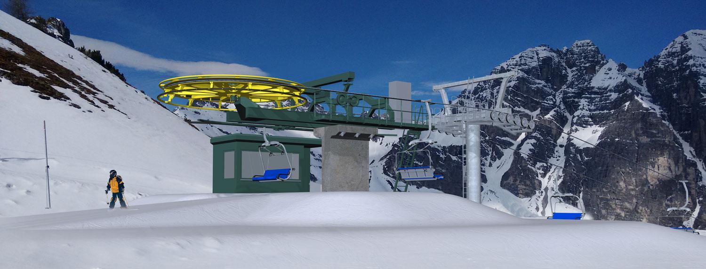 Panoramabahn bergstation Schlick 2000