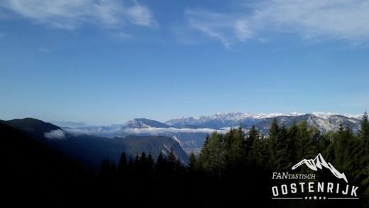 Salzkammergut Bergseen Trail Culinarisch tijdens het bergwandelen