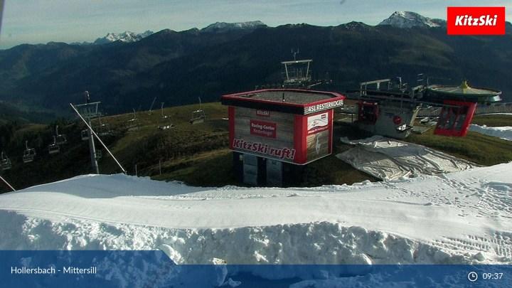 Kitzbuhel Sneeuwdepot Resterkogel Resterhöhe