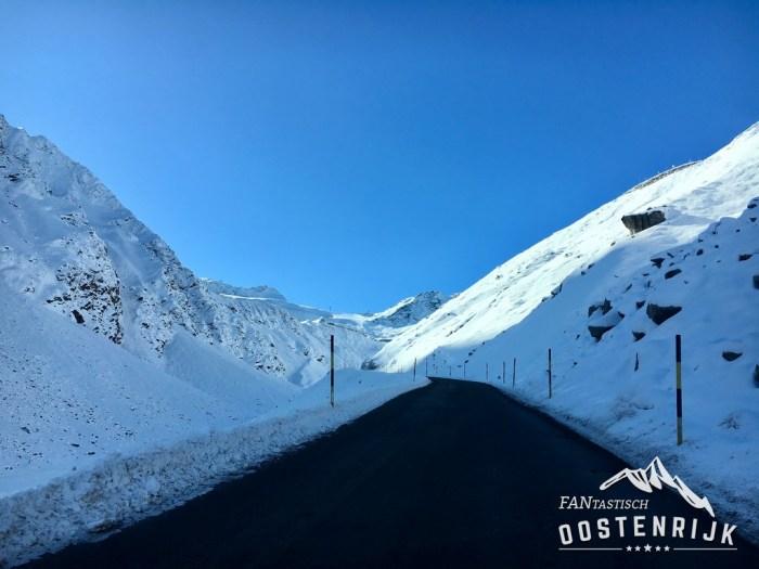 Sölden Gletsjerstrasse