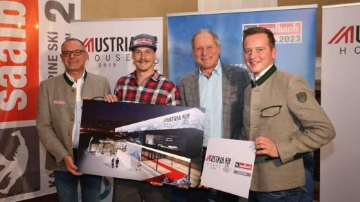 saalbach Austria house 2018
