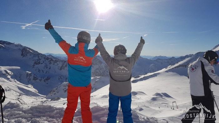 Stubaier Gletsjer Stubai FANtastisch Oostenrijk