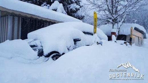 Met de auto op wintersport naar Oostenrijk