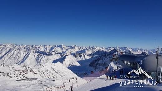 Pitztaler Gletsjer dak van Tirol