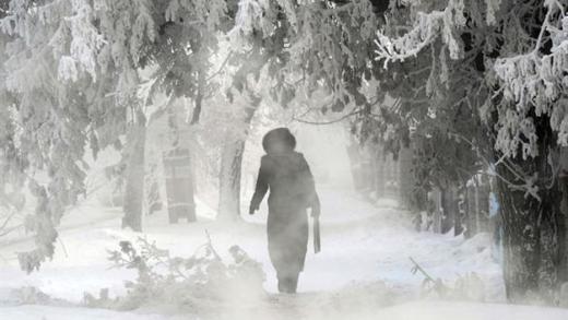 Extreme kou komt Oostenrijk binnen, ga niet de gletsjers op!