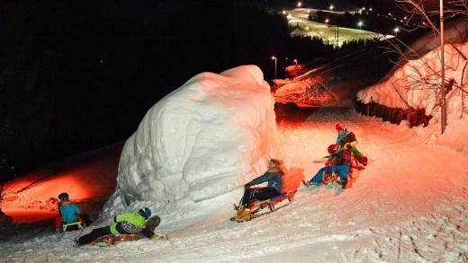 Hexenritt Rodelbahn Söll SkiWelt