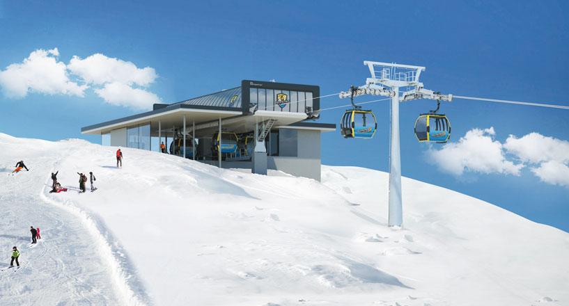 Möslbahn De Nieuwe Uitbreiding Van Het Skigebied Mayrhofen