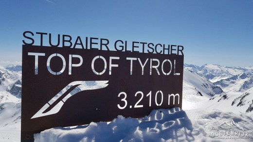 Stubaier Gletsjer 3210 meter