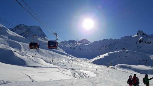 Stubaier Gletsjer 17 november alle gletsjers open!