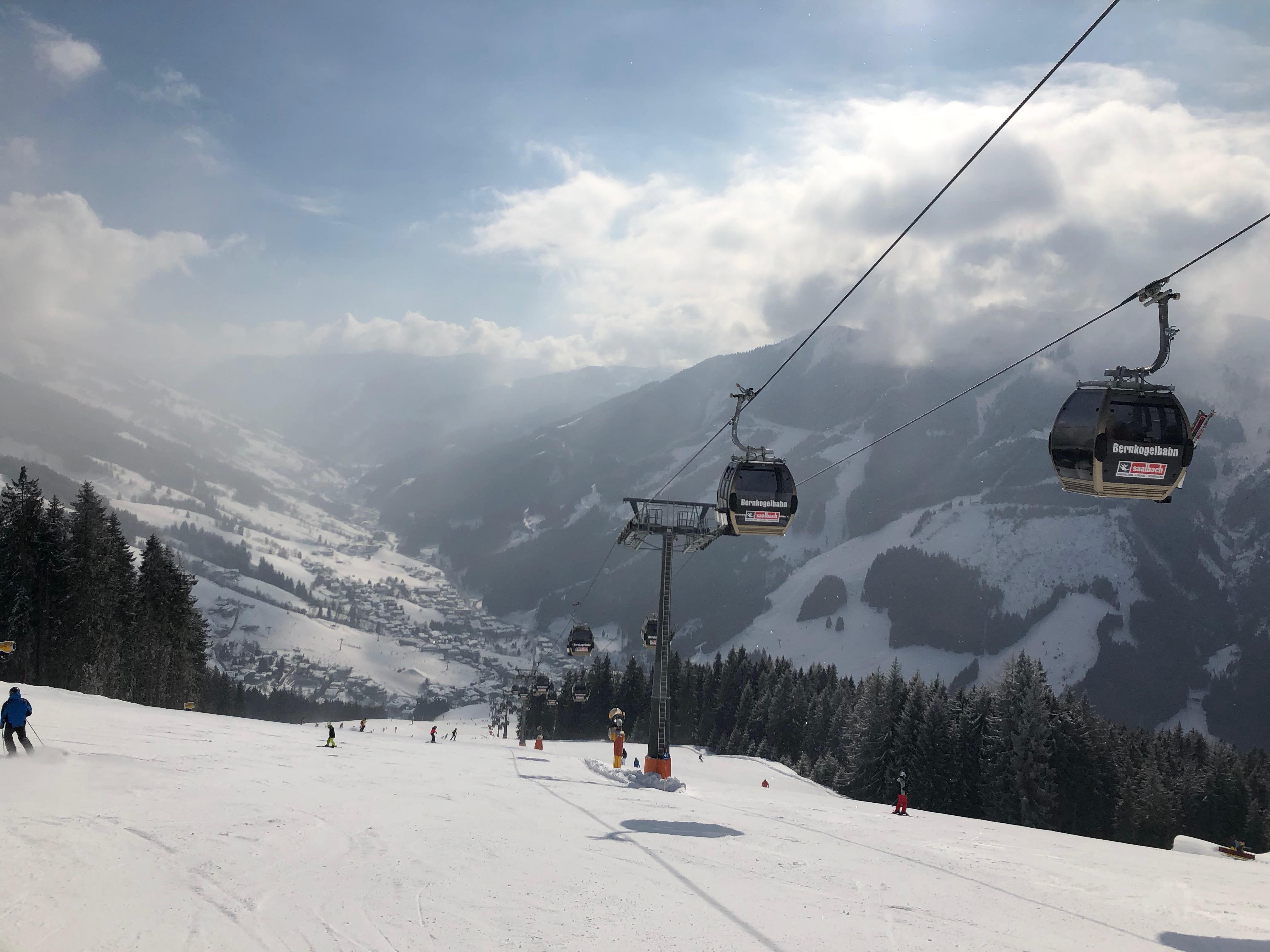 Bernkogel richting Saalbach