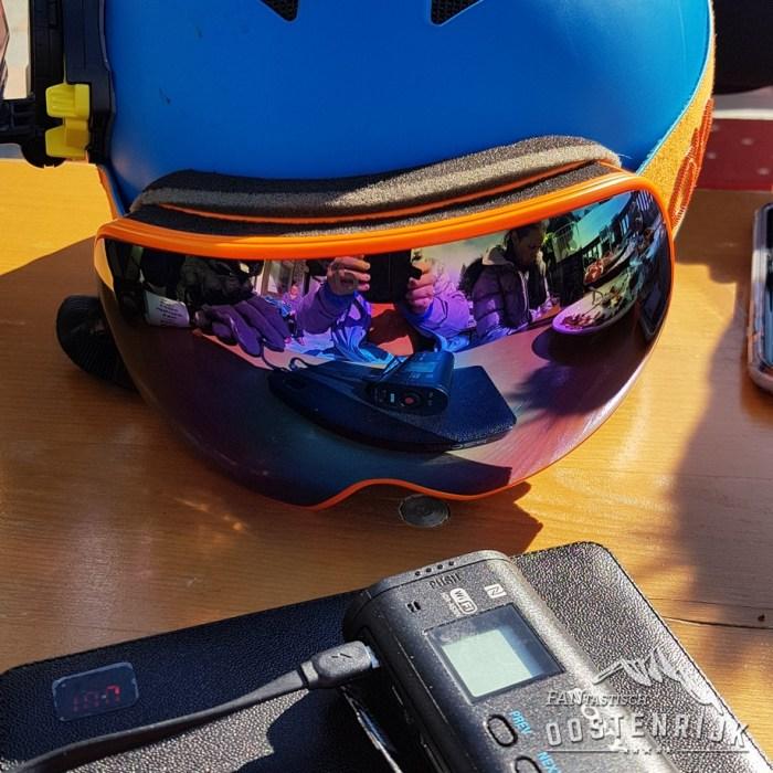 Bluetribe Helm en Sonycam