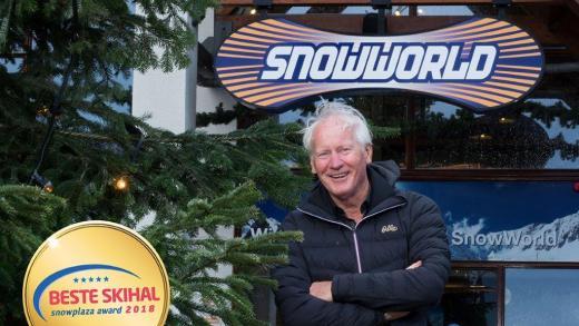 Snowworld Zoetermeer gekozen tot beste Skihal 2018