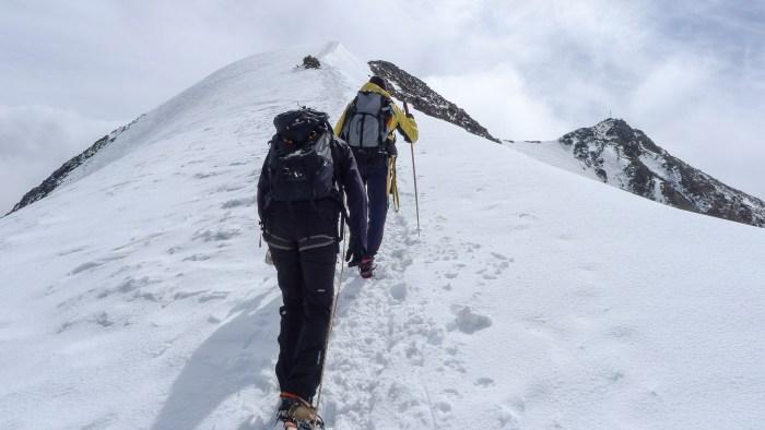 bergfuehrervereinigung pitztal aufstieg wildspitze