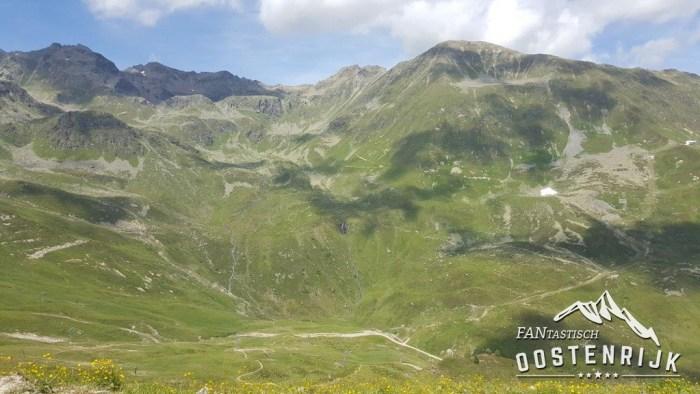 De machtige bergwereld van Serfaus