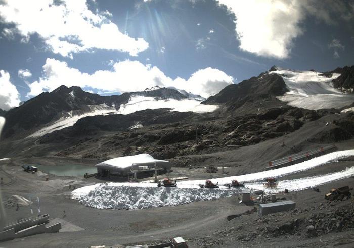 Pitztaler Gletsjer 15 sept 2018