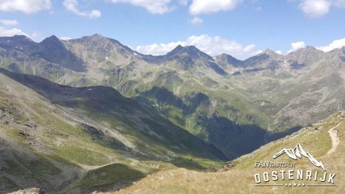 Serfaus Fiss Ladis Wandelen boven de 2500 meter