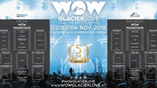 WOW Glacierlove 2018