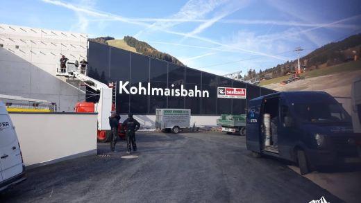 Saalbach Bouwupdate 12: Kohlmaisbahn