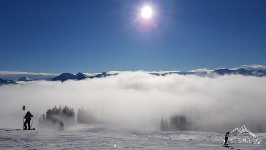 Wintersporters mochten afgelopen zondag niet mee in de lift