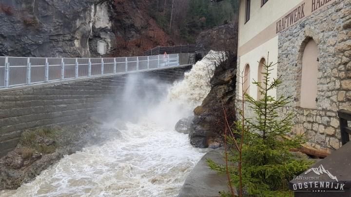 Na regen wateroverlast Hopfgarten
