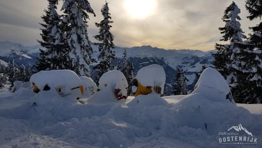 Rustig en erg koud, komt het snel tot nieuwe sneeuwval?