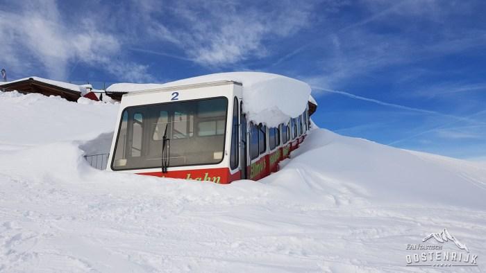 Ellmau Hartkaiserbahn Trein