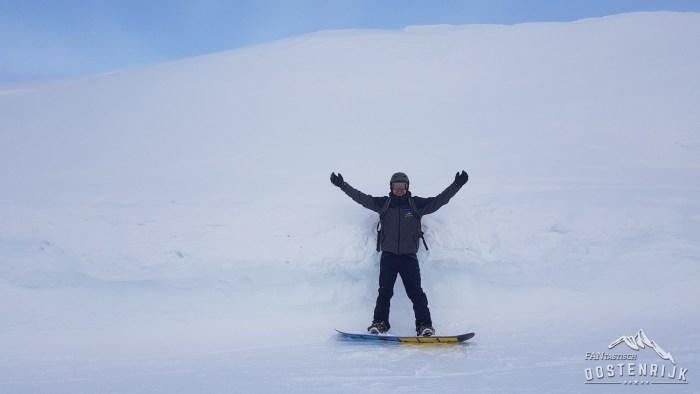 Kirchberg 3 meter sneeuw