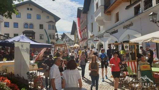 Kitzbühel erg bruisend op 17 augustus 2019