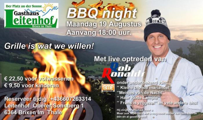Leitenhof BBQ met Rob Ronalds