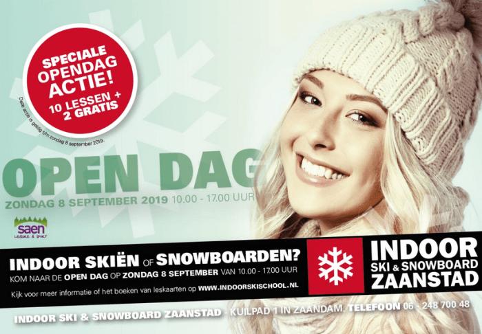 Opendag Indoor Ski & Snowboard Zaanstad