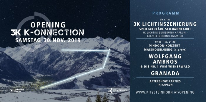 Kaprun Opening 3K-onnection 30 november 2019