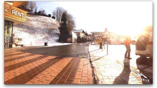 Saalbach locatie nieuwe piste