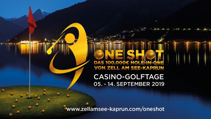 Zell am See Kaprun One Shot Golf Casino Tage
