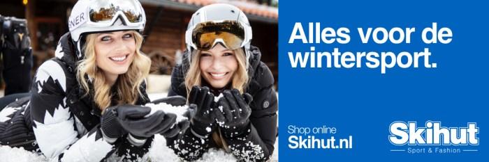 Skihut Alles voor de Wintersport Banner Groot