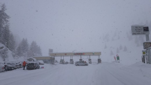 Na Kaiserwetter volgt de volgende sneeuwdump