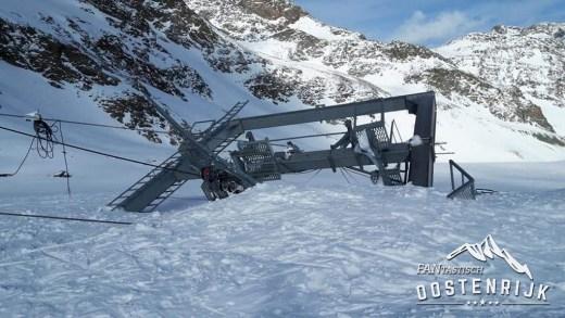 Lawine Stubaier Gletsjer Daunscharte