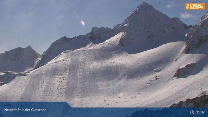 Stubaier Gletsjer 4 nov 2019