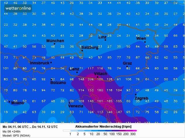 Wetteronline Neerslag Kaart l 4 nov 2019 2