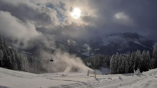 Het dumpt in de Alpen, maar niet in Oostenrijk