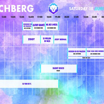 timetable zaterdag