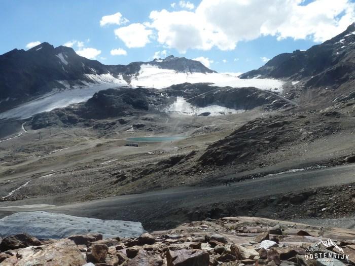 Foto's vanuit FO Bettina van der Weide Ruijter Pitztaler Gletsjer