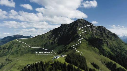 St Johann in Tirol en de Höhenweg Kitzbüheler Horn