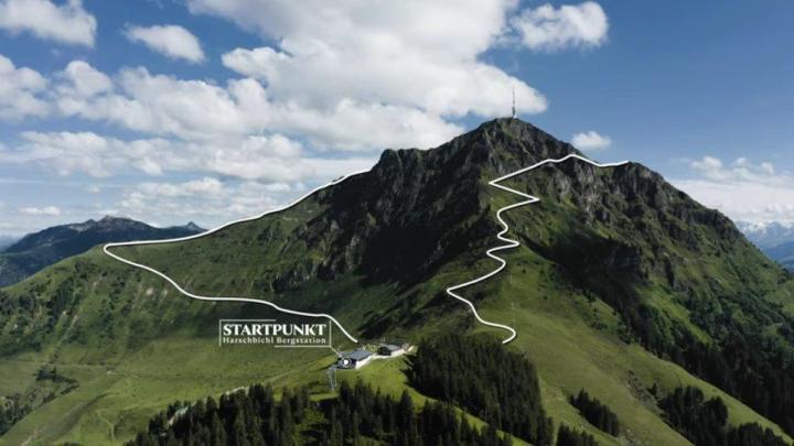 St Johann in Tirol Horn Gipfel Höhenweg am Kitzbüheler Horn